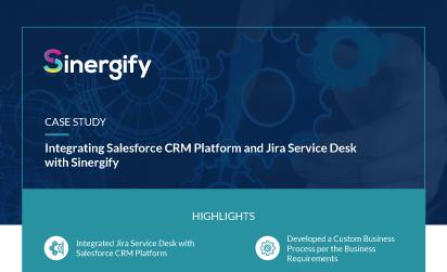 Integrating Salesforce CRM Platform and Jira Service Desk with Sinergify